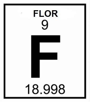 flor sembolu 2 - Flor Nedir? Flor Elementinin Bilmediğiniz Özellikleri