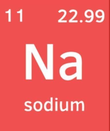sodyum sembolu - Sodyum Nedir? Sodyum Elementinin Bilinmeyen Özellikleri