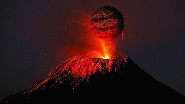 yanardağ nedir resim