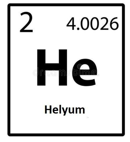 helyum sembolu - Helyum Nedir? Helyum Elementinin Bilmediğiniz Özellikleri