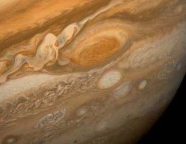 jupiter buyuk kirmizi nokta - Jüpiter Gezegenine Dair Bilmeniz Gereken Gerçekler