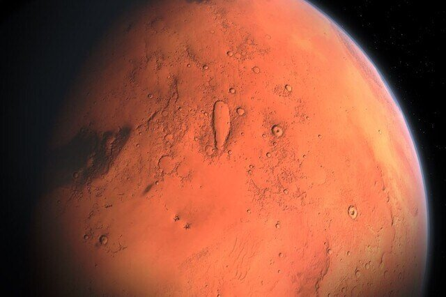 mars gezegeni resim