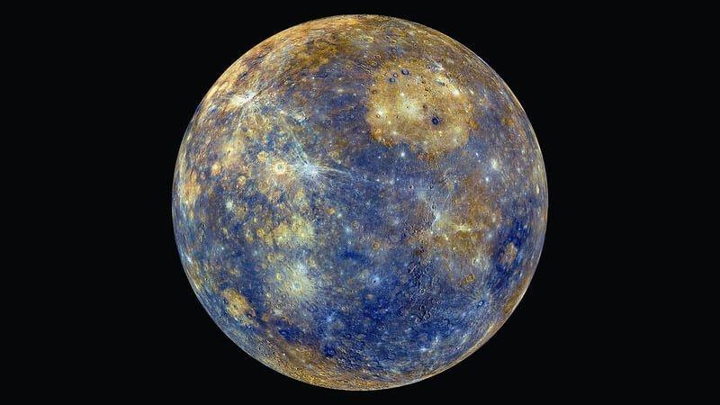 merkür gezegeni fotoğrafı
