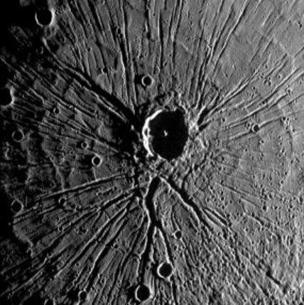 merkurdeki krater - Merkür Gezegenine Dair Bilmeniz Gereken Gerçekler