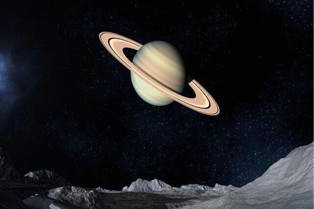 satürn gezegeni resim